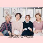 """Maike, Leonie, Nicole und Katrin von """"FOURhang auf"""" verraten uns ihre Wünsche – Make a wish"""