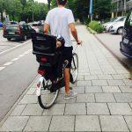 Ab auf's Fahrrad mit dem Kindersitz von Britax