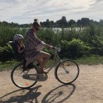Wir sind im absoluten Fahrrad-Wahn! Mit unserem neuen Britax Römer Kindersitz…