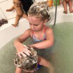 Haare waschen? Bei uns ein großes Thema…